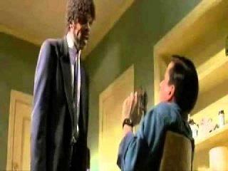 Najlepsza scena z filmu Pulp Fiction - Księga Ezechiela: 25,17