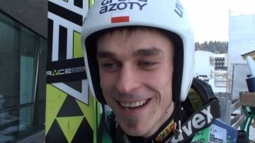 Piotr Żyła po zwycięstwie w Oslo [ SkiJumping.pl ]
