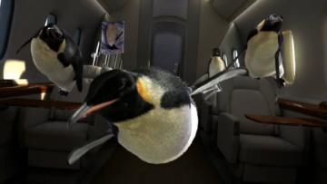 Reklama Wedel Ptasie Mleczko®  Pingwiny