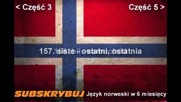 Szybka i skuteczna nauka języka norweskiego - część 4 -  5000 najczęściej używanych słówek