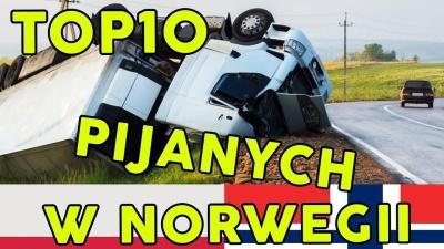 TOP 10 PIJANYCH W NORWEGII