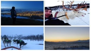 NORWAY ADVENTURES - HUSKY/REINDEER SLEDDING, HELICOPTERS & MOUNTAIN CLIMBING