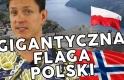 GIGANTYCZNA POLSKA FLAGA NAJBOGATSI NORWEGOWIE CO DAŁA MI NORWEGIA Tydzień w Norwegii #10