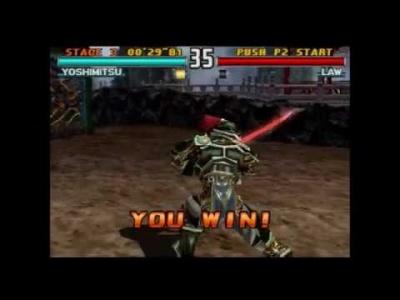 Tekken 3: Yoshimitsu Win Poses