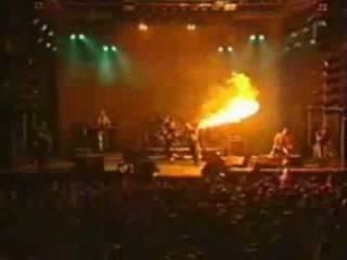 Rammstein - Feuer Frei (Pyrotechnic Effects)