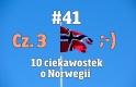 Nowy w Norwegii #41 - 10 ciekawostek o Norwegii cz. 3