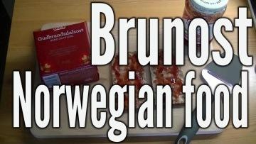 Brunost tradycyjny norweski ser