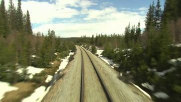 Cab Ride Norway : Trondheim - Bodø (Spring) Nordland Line