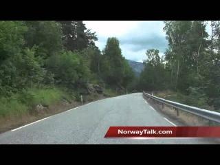 Dramatic Hardanger Fjord road RV7 - Fjord Norway