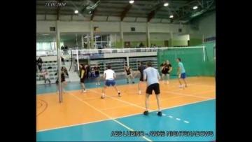 AZS LUZINO- AWKS NIGHTSHADOWS 24_10_2010 volleyball Poland | by ANDRZEJ SZULC