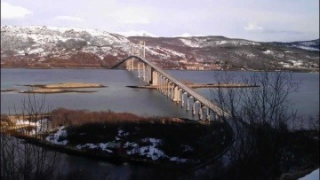 Vlog 01: Norwegia - Początek vlogu oraz podróż do Harstad - HD