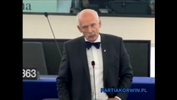 Janusz Korwin-Mikke o Gazociągu Północnym 07.10.2015