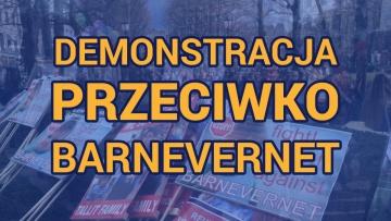 Demonstracja przeciwko Barnevernet w Oslo 16 kwietnia