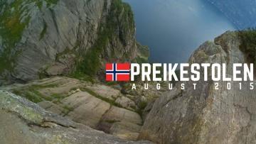 On the top of Preikestolen 2015 Norway (Pulpit Rock) I XiaoYi Action camera