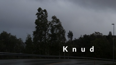 Knud - the walk in the storm