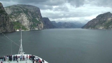 Lysefjord Norway (Time Lapse)