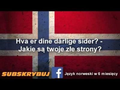 Szybka i skuteczna nauka języka norweskiego - rozmowa kwalifikacyjna po norwesku część 1