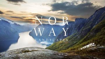 NORWAY. Landscapes. A photographic portrait by Hanne Malat & Frank van Groen