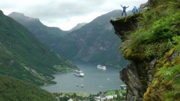 Geirangerfjord, Norway in HD