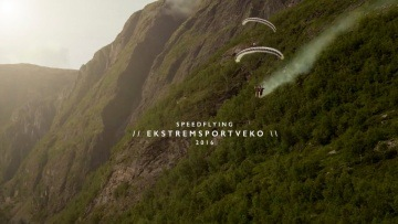 Ekstremsportveko 2016 // Speedflying - Swing Spitfire2