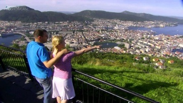 Bergen, Hordaland - The Gateway to the Fjords of Norway