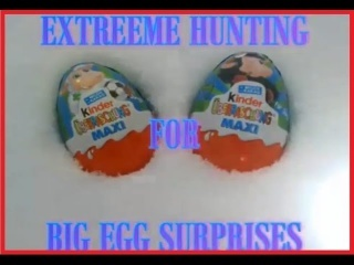 EGG SURPRISE MAXI SIZE EXTREME HUNTING
