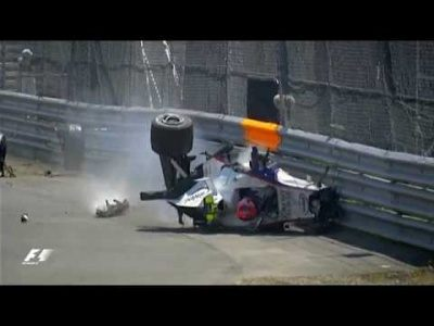 Robert Kubica's Huge Crash | 2007 Canadian Grand Prix