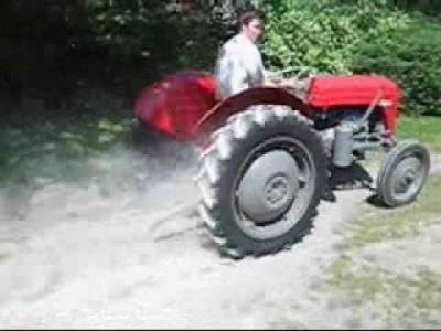 Sportowy traktor / The sports tractor