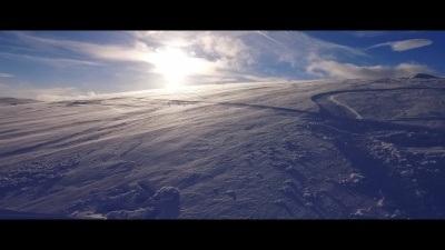 White Ink - Snowkiting in Norway