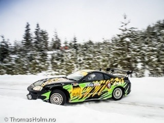 Meanwhile in Norway Kenneth Moen Rally stage Drift