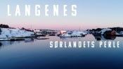Langenes - Sørlandets perle || winter 2021 Norway 4K drone video