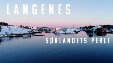 Langenes - Sørlandets perle || winter 2021 Norway 4K drone video
