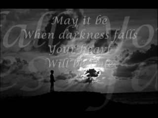 Enya - May It Be Lyrics