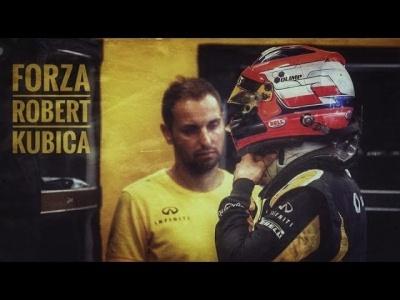 Robert Kubica - I'm Coming Home | #ForzaKubica | Kubica back in F1 Car 2017